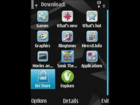 How to install Ovi Store on the Nokia N85