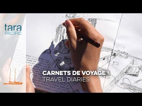 [Tara Pacific] Carnets de voyages // Travel diaries