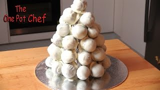 White Chocolate Christmas Truffle Tower | One Pot Chef
