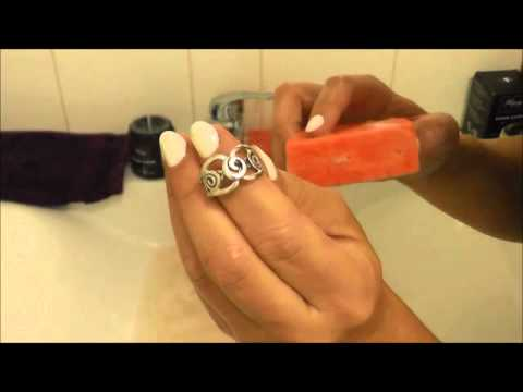 HOW TO CLEAN YOUR STERLING SILVER & GEMSTONE JEWELLERY