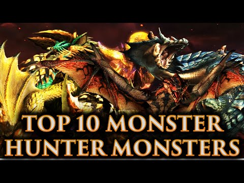 CRASHX500'S Top 10 Monster Hunter Monsters