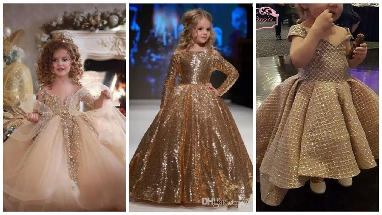 Baby Girl Fancy Wear Maxi Dress Frocks Designs Collection Youtube,Wedding Rose Gold Elegant Bridesmaid Dresses