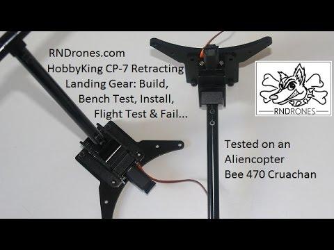 HobbyKing CP-7 Retracting Landing Gear: Build, Bench Test, Install, Flight  Test & Fail