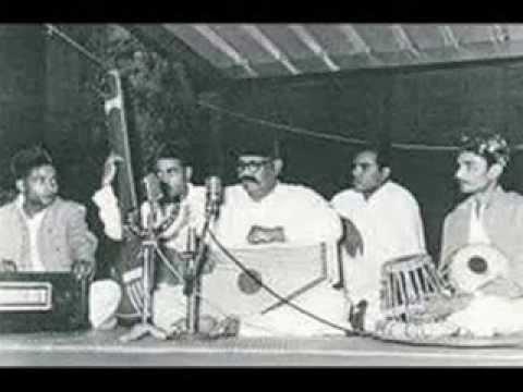 Ustad Bade Ghulam Ali Khan -Thumri Aye Na Balam