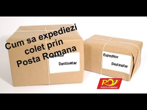 colet posta romana destinatar expeditor