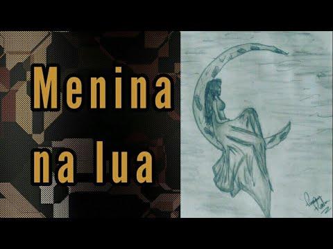 Desenho Tumblr Menina Na Lua Youtube