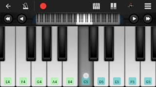 Download Hindi Video Songs - Toota Jo Kabhi Tara (A Flying Jatt), Atif Aslam - Easy Mobile Perfect Piano Tutorial