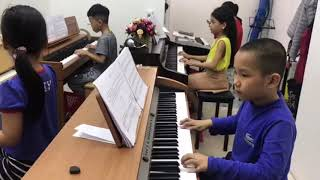 Tom học piano♥️funny kids songs♥️video clip♥️nhạc tiếng anh cho bé♥amazing♥discovery