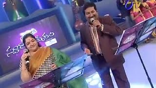 swarabhishekam manochithra performance priya priyatama ragalu song 31st august 2014