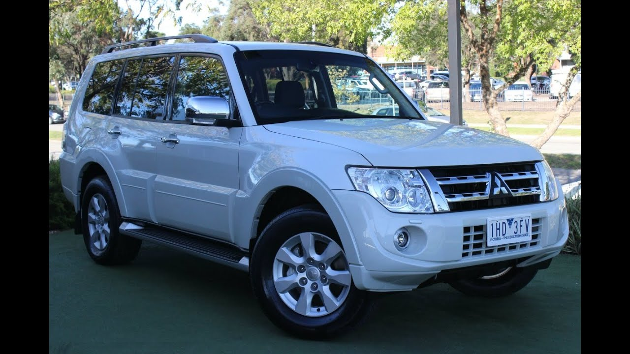 B5225 2011 mitsubishi pajero platinum nw auto 4x4 my12 review youtube