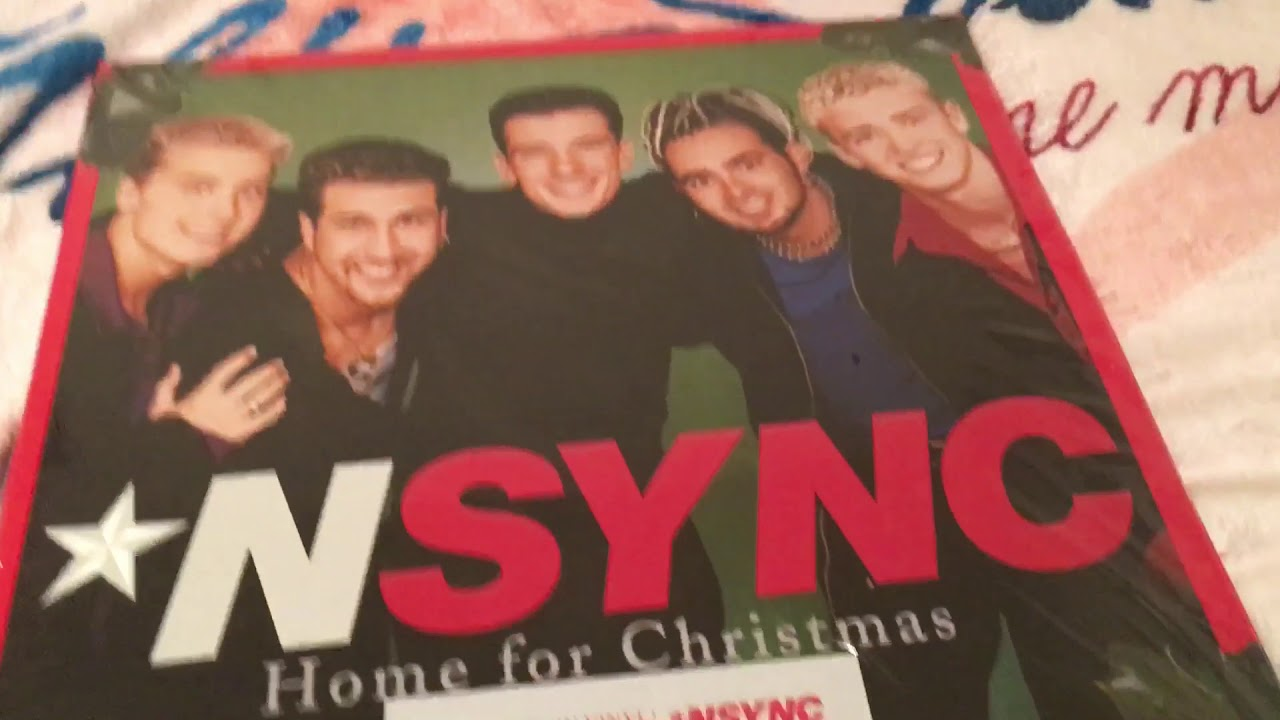 NSYNC - Home for Christmas VINYL UNBOXING - YouTube