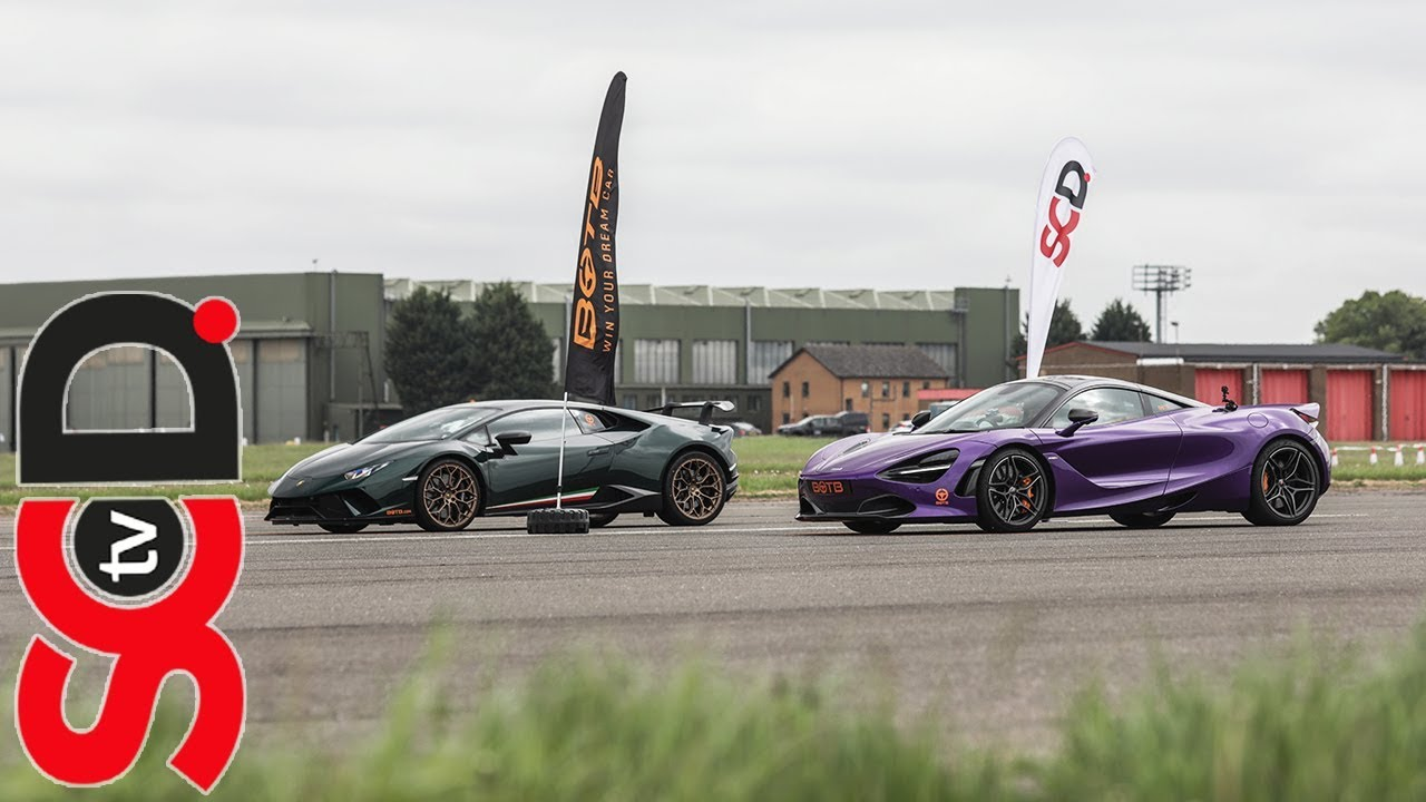 Mclaren 720s V Huracan Performante Botb Drag Race