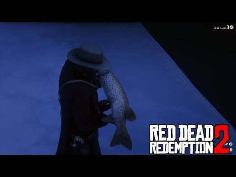 CATCHING HUGE MUSKIE l RED DEAD REDEMPTION 2