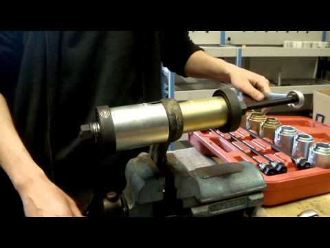 Lincos® MD0901 Universal bearing removing/installing kit