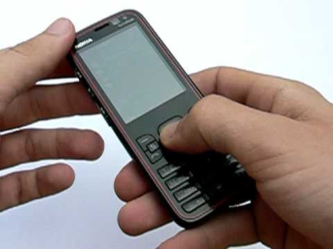 Nokia 5630 XpressMusic: design a konstrukce