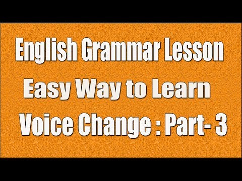 Learn to Identify Active to Passive Voice | Bangla