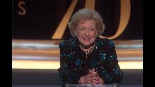 70th Emmy Awards: A Celebration for Betty White