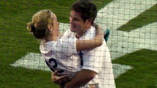 Adam DeVine Sings National Anthem at Dodger Stadium 9-28-13 - Comedian and 'Workaholics' Star