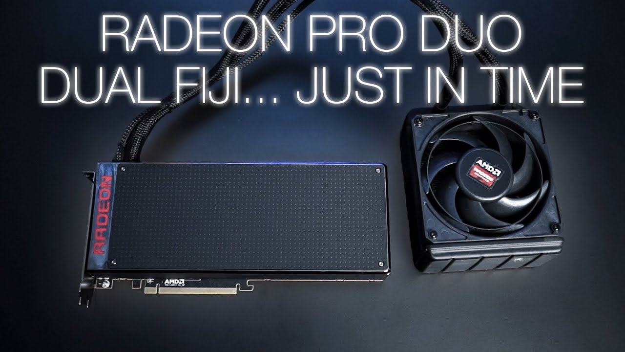 radeon pro duo for creators who game youtube. Black Bedroom Furniture Sets. Home Design Ideas