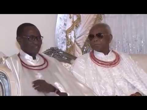 Checkout Oba do Comboio de Benin como Chega Edo Estado Govt. Casa, Governador Obaseki Arcos Para G