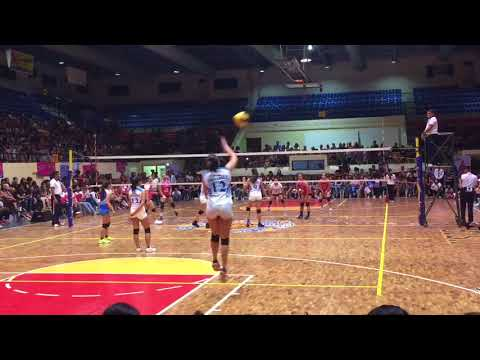 Ateneo Lady Eagles vs Creamline Cool Smashers Set 3