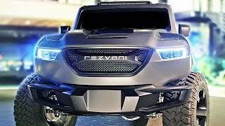 1,000HP Rezvani TANK (2020) The Most Powerful SUV in the World