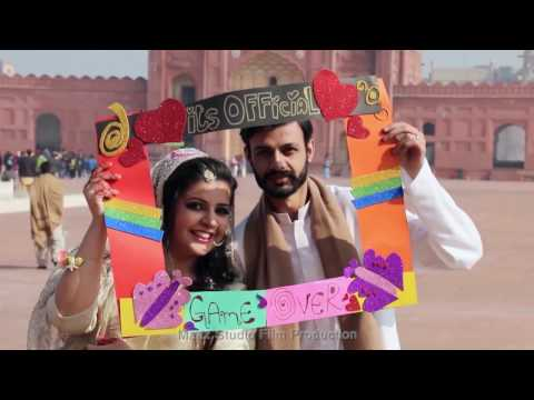 Mina & Faheem, Cinematic Nikah Highlights At Badshahi Mosque Lahore By Maaz Studio Film Production
