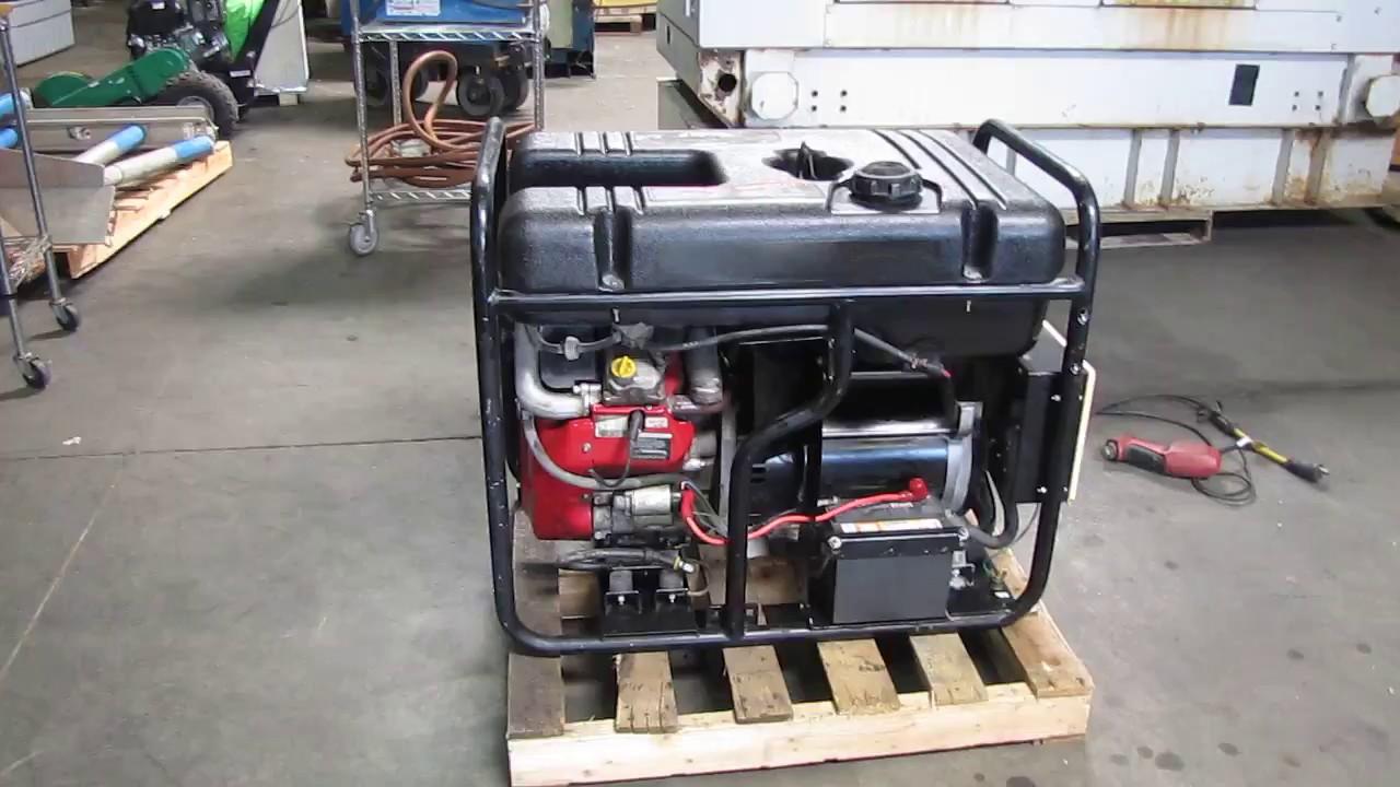 generac 15kw generator 30hp gasoline engine 120 240v output 15000 watt [ 1280 x 720 Pixel ]