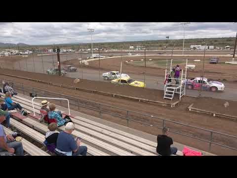 IMCA Stock Cars Heat 2/2/2019 @ Canyon Speedway Park Peoria AZ