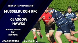HIGHLIGHTS | Musselburgh vs Glasgow Hawks - Tennents Premiership 2019/20