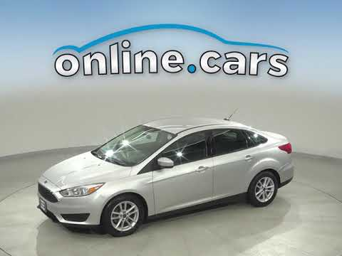 G15040TR Used 2018 Ford Focus Silver Sedan Test Drive, Review, For Sale