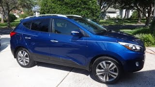 2014 Hyundai Tucson Limited Review and walkthrough. Wifes Brand New Car!