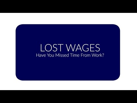 Lost Income/Wages During Your Auto Injury Settlement- Phoenix Personal Injury Attorney
