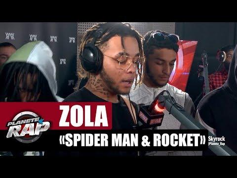 Zola 'Spider Man & Rocket' #PlanèteRap