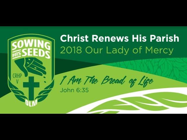 MENS Christ Renews His Parish V 2018