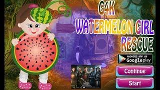 G4K Watermelon Girl Rescue Walkthrough [Games4King]