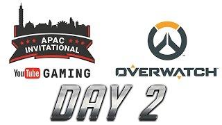 Overwatch | Youtube Gaming APAC Invitational : Day2