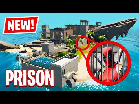 NEW UPDATE!! Prison Secret Map Changes! (Fortnite Battle Royale)