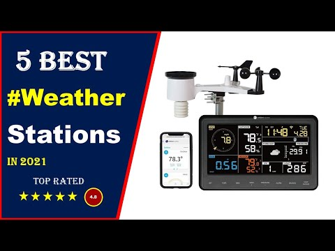 ✅ Top 5: Best Weather Stations For Home 2021[Tested & Reviewed]