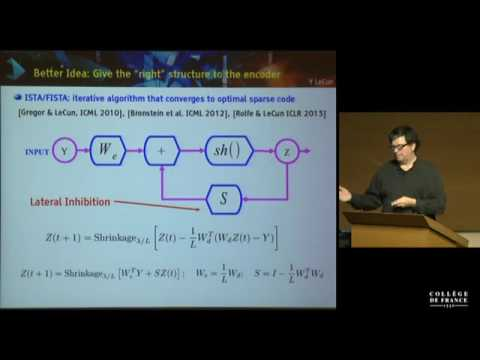 Yann LeCun Lecture 8/8 Unsupervised Learning