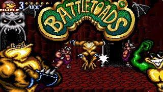 Batteltoads - difícil jogo do SNES - LONGPLAY