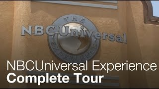 The NBCUniversal Experience - Complete Tour - Universal Studios Hollywood
