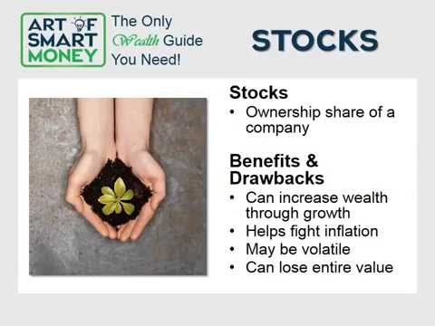 The Art of SMART Money Investing 101 Part 2 - Basic Investment Types