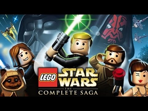 LEGO Star Wars: The Complete Saga All Cutscenes (Game Movie)