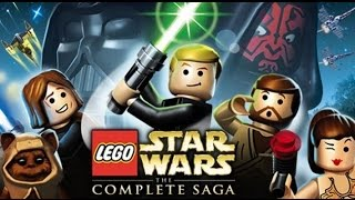 LEGO Star Wars: The Complete Saga All Cutscenes (Game Movie) 1080p HD