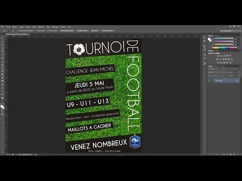 Tutoriel - Créer une Affiche Publicitaire Photoshop [FR]