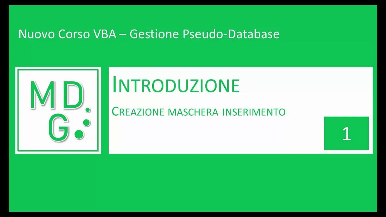 Gestione Pseudo-Database