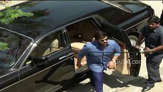 Look at Chiranjeevi's Rolls Royce Car - Gulte.com