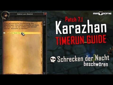 WoW Legion Karazhan TIMERUN Guide -...