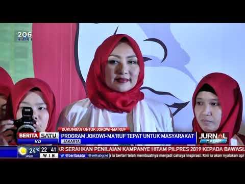 Arus Baru Muslimah Bertekad Menangkan Jokowi-Ma'ruf Amin